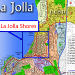 La Jolla Shores Map
