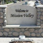 Mission Valley Sign