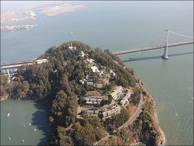 Yerba Buena Island in San Francisco county California