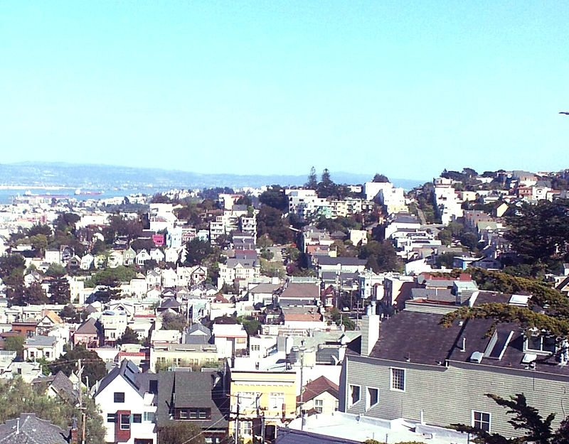 Noe Valley in San Francisco county California
