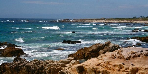 Seaside in Monterey county California