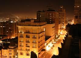 Nob Hill in San Francisco county California