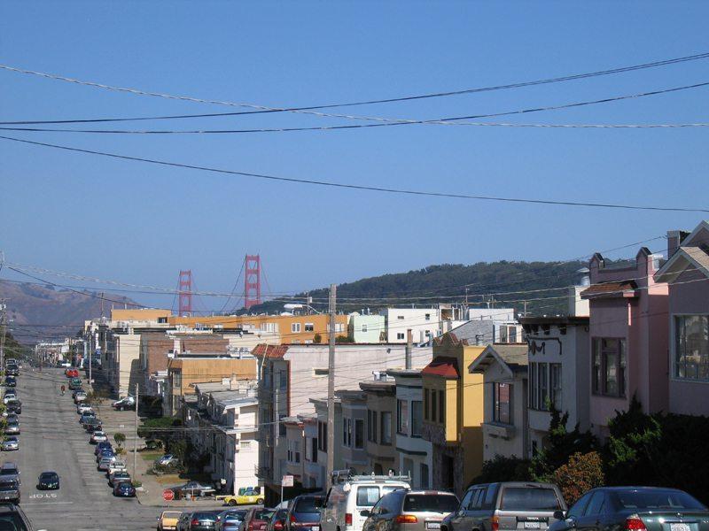 Richmond Disctrict in San Francisco county California