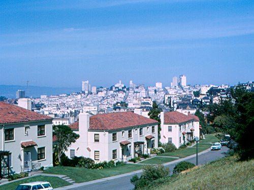 Presidio in San Francisco county California