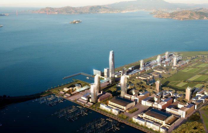 Treasure Island in San Francisco county California
