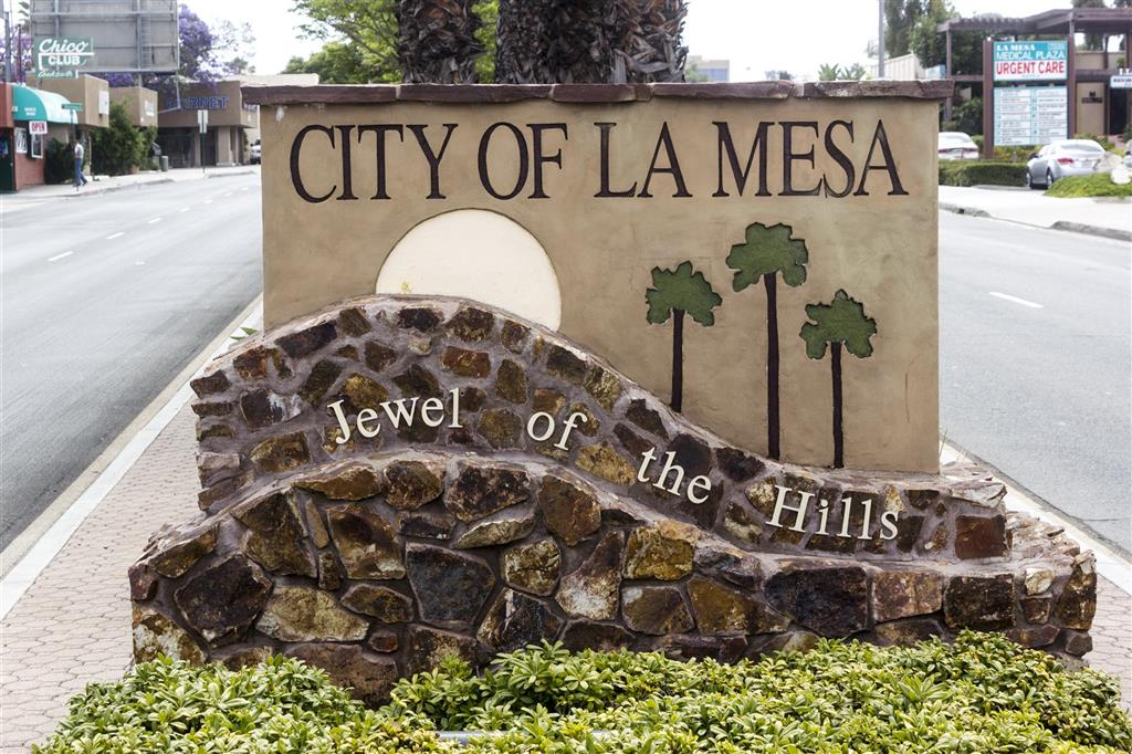 La Mesa in San Diego county California