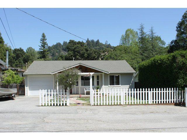 Felton in Monterey county California